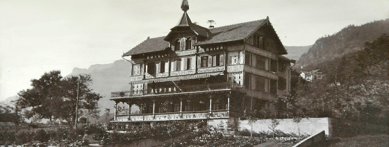 Hotel Restaurant Alpina History And Tradition - Hotel alpina grindelwald